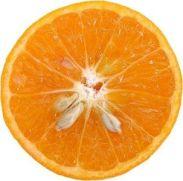 orange half