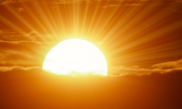 sunrise -early risers